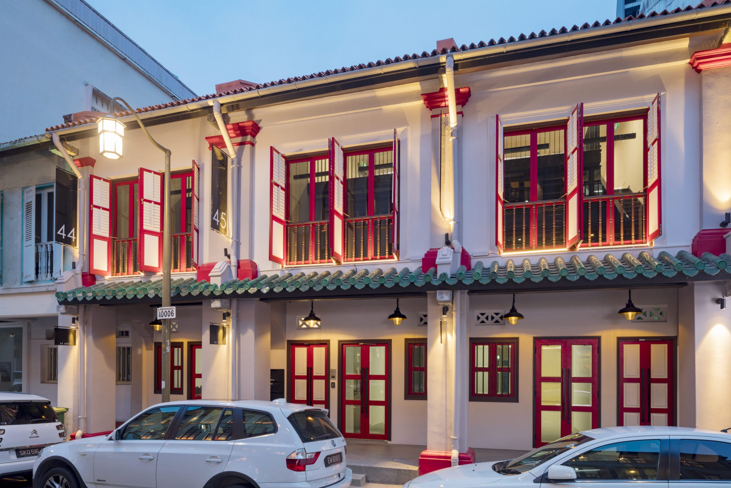 SilkRoad Property Partners is pleased to announce that it recently fully exited its investment in 44-46 Amoy Street, Singapore.